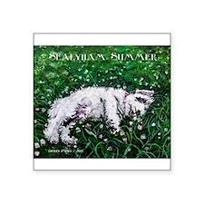Sealyham Summer Terrier Sticker