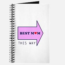 BEST MUM THIS WAY Journal
