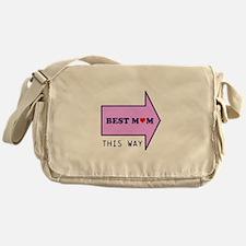 BEST MUM THIS WAY Messenger Bag