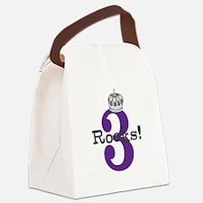 3 Rocks Canvas Lunch Bag