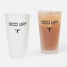 WOD UP? Drinking Glass