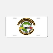 Army - WWII - 104th INF Div Aluminum License Plate