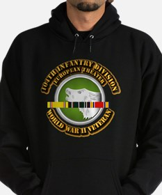 Army - WWII - 104th INF Div Hoodie (dark)