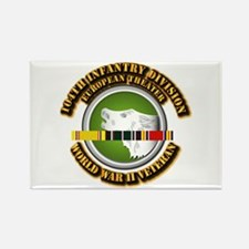 Army - WWII - 104th INF Div Rectangle Magnet