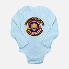 Army - WWII - 106th INF Div Long Sleeve Infant Bod