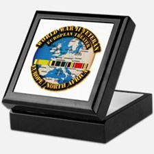World War II Veteran - Europe Keepsake Box
