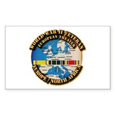 World War II Veteran - Europe Decal
