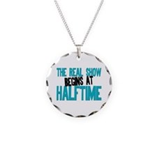 Marching Band Halftime Necklace Circle Charm