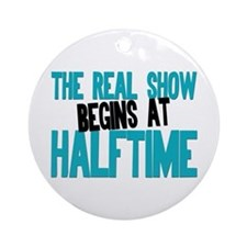 Marching Band Halftime Ornament (Round)