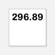 296.89 Sticker