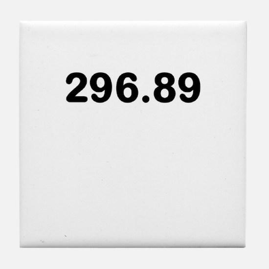296.89 Tile Coaster