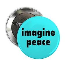 IMAGINE PEACE... Button