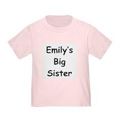 Emily's Big Sister T