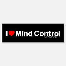 Mind Control Bumper Bumper Sticker