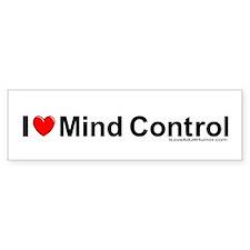 Mind Control Bumper Sticker