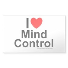 Mind Control Decal