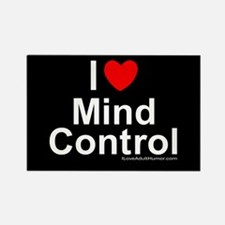 Mind Control Rectangle Magnet