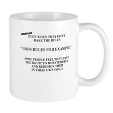 GODS RULES FOR EXAMPLE Mugs