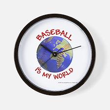 Baseball is my World Wall Clock