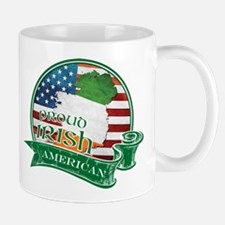 Proud Irish American Mug