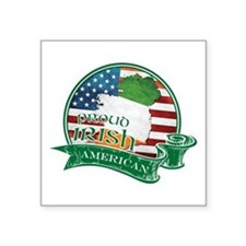 Proud Irish American Sticker