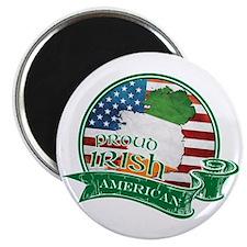 "Proud Irish American 2.25"" Magnet (100 pack)"