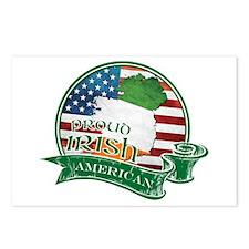 Proud Irish American Postcards (Package of 8)