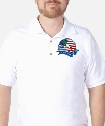 Proud Italian American Golf Shirt