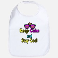 Crown Sunglasses Keep Calm And Stay Cool Bib