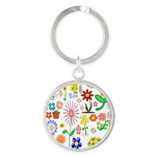 Field of Flowers Keychains