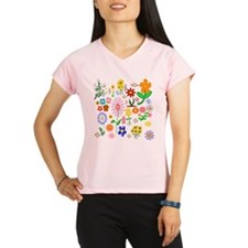 Field of Flowers Peformance Dry T-Shirt