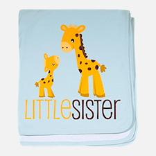 Little Sister baby blanket