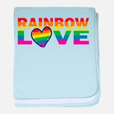 Marriage Equality - Gay Pride baby blanket