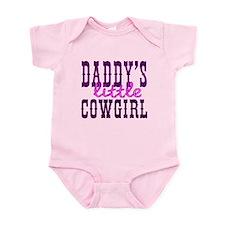 Daddy's Little Cowgirl Infant Bodysuit