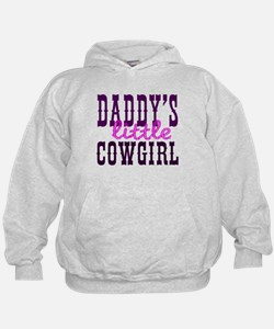 Daddy's Little Cowgirl Hoodie