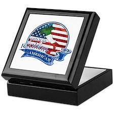 Proud Italian American Keepsake Box