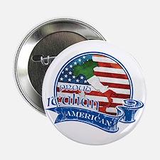 "Proud Italian American 2.25"" Button"