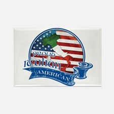 Proud Italian American Rectangle Magnet