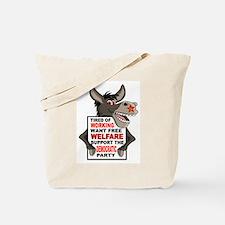 WELFARE DEMOCRATS Tote Bag