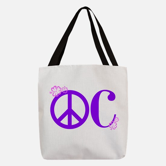 OC! Ocean City! Polyester Tote Bag