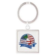 Proud Italian American Keychains