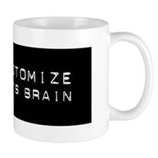 Lobotomize Bush's Brain Mug for Coffee and Tea