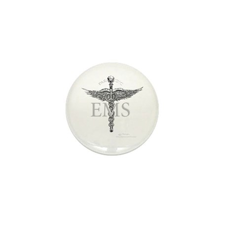 Ems Paramedic Mini Button