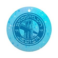 Brooklyn New York Jewish Ornament (Round)