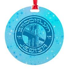 Brooklyn New York Jewish Ornament