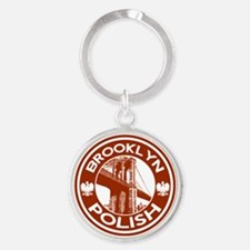 Brooklyn New York Polish Keychains
