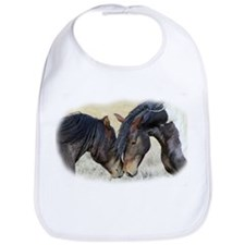TWO HORSES Bib