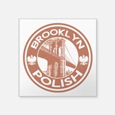 Brooklyn New York Polish Sticker