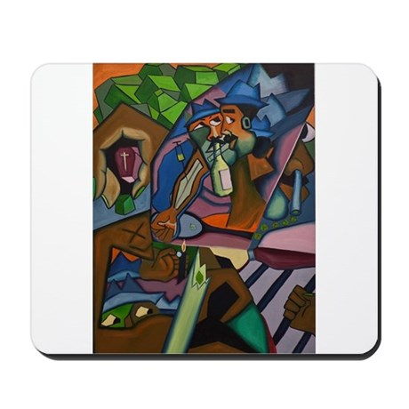Drug and Alcohol Abuse Mousepad
