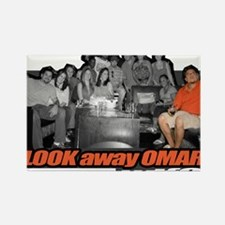 LOOKawayOMAR Rectangle Magnet